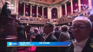 Attentats : le congrès vient de se réunir à Versailles