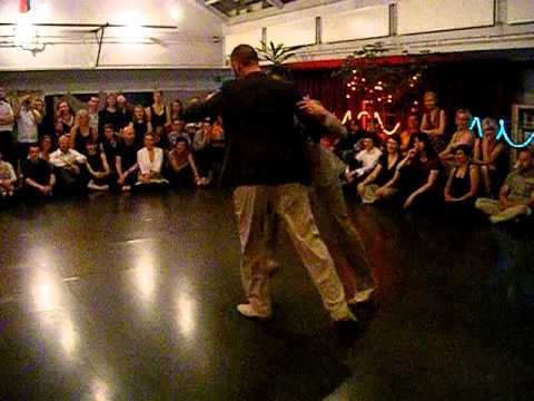 Cristiano and Andrea at Stockholm International Queer Tango Festival 2013 (Part 3/3)