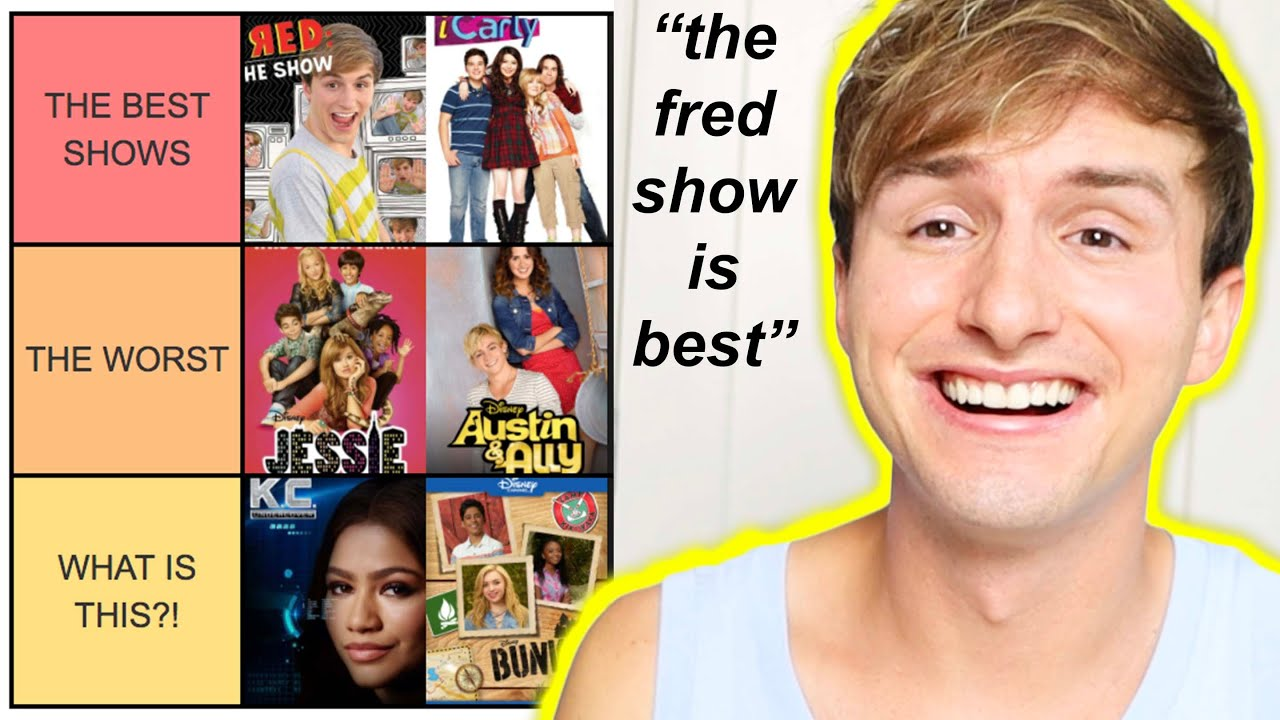 THE FRED GUY RANKS DISNEY & NICKELODEON SHOWS (why)