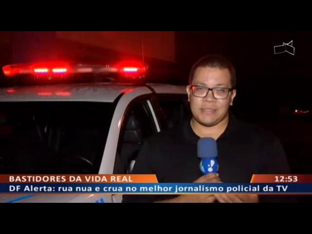 DF ALERTA - Bandido roda com carro roubado comprado por mil reais