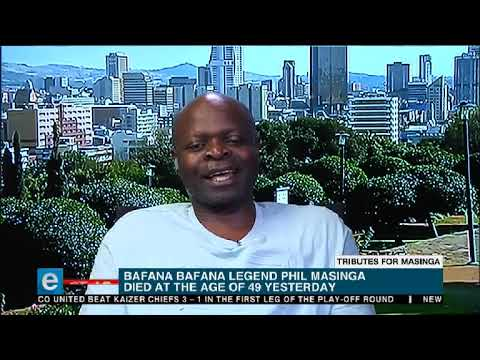 Tributes continue to pour in for former Bafana Bafana striker, Phil Masinga
