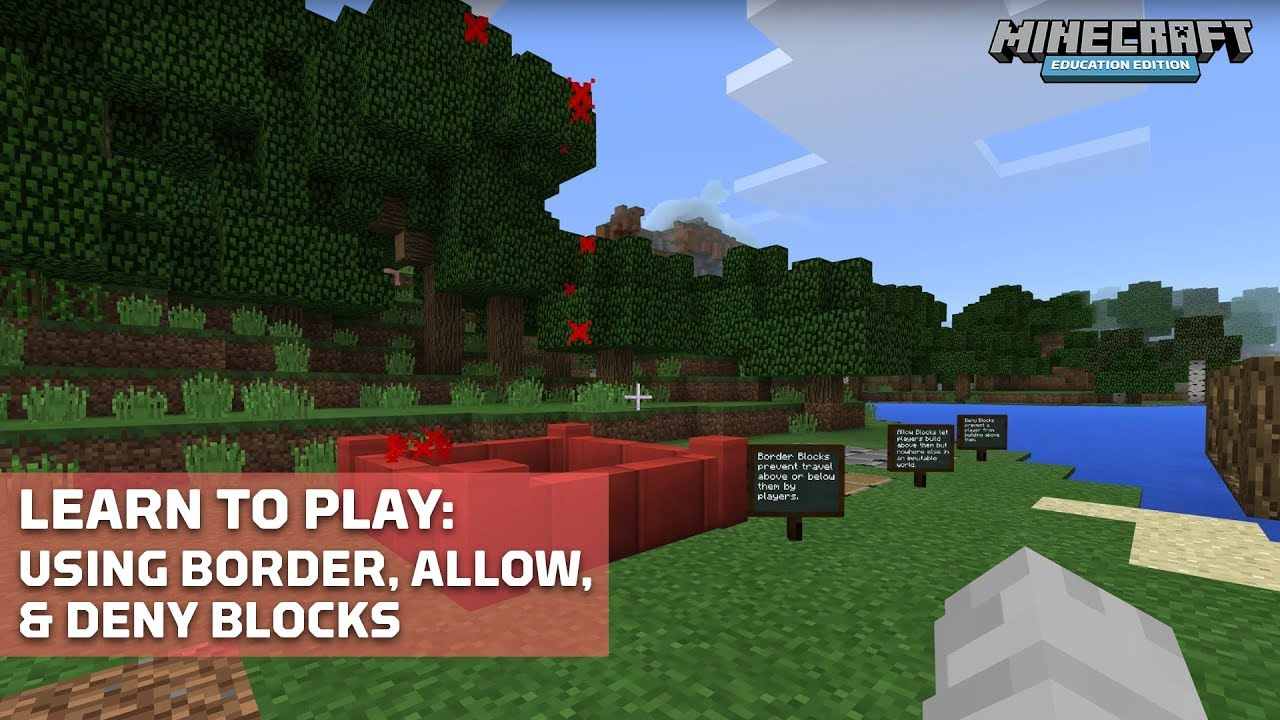 Specialty Blocks (Allow, Deny, Border, Structure) – Minecraft