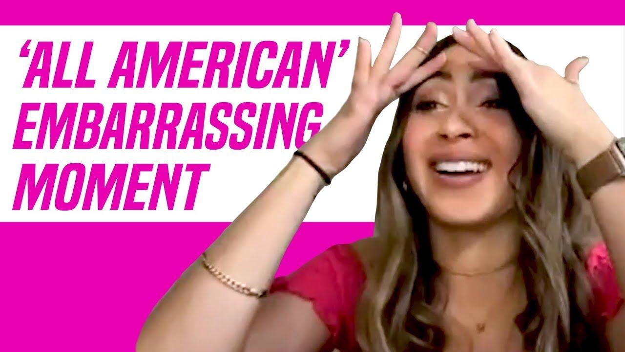 All American Star Alondra Delgado Reveals Embarrassing Moment on Set