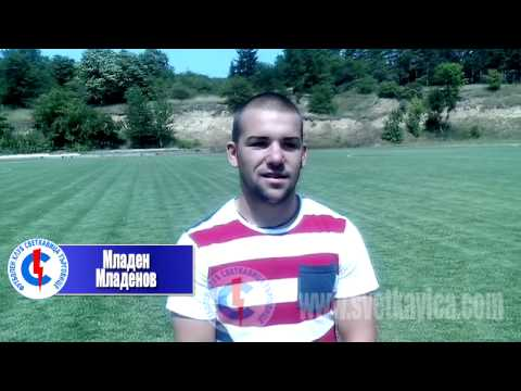 Интервю с Младен Младенов, автор на първият гол за ФК Светкавица Търговище