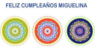 Miguelina   Indian Designs - Happy Birthday