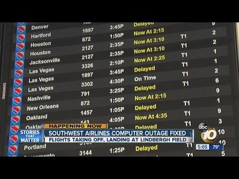 Southwest Airlines Computer Glitch Causes Massive Delays