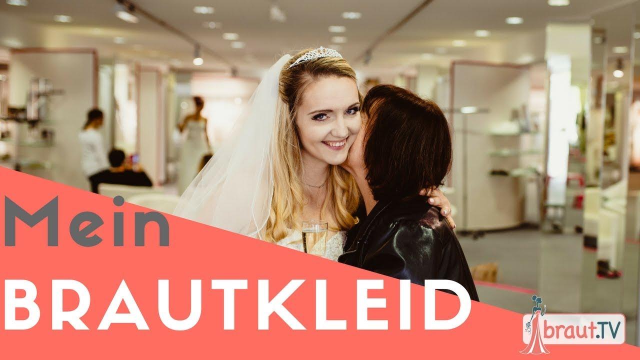 Brautkleid Anprobe - Mein Brautkleid | Die Anprobe ...