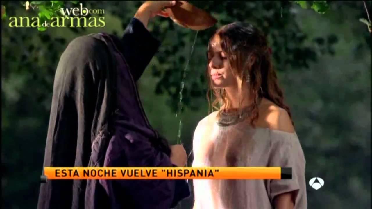 Ana De Armas Hispania ana de armas. esta noche, tercer capítulo de hispania (antena 3 noticias 2)