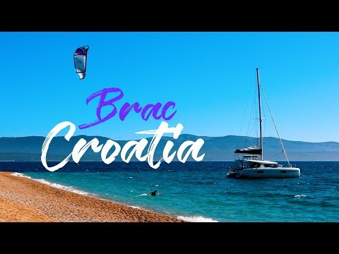 ZLATNI RAT BEACH || TRAVEL CROATIA || BRAC || CROATIA VLOG #15