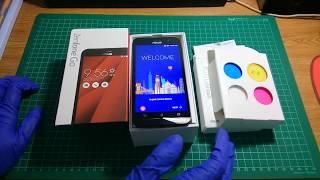 Unboxing Asus Zenfone Go ZB500KL Red Color Free Asus Lolliflash