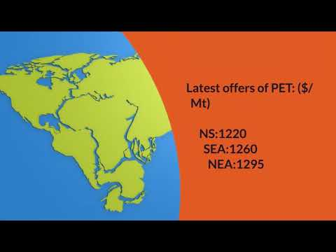 Daily Video News : PET 27.4.18.Join PolymerBazaar delegation at Taipei Plast 18.