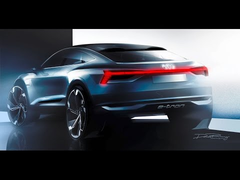 Audi e-tron Sportback concept - World Premiere Car in Shanghai [GOMMEBLOG]