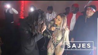 FLORENCE & BLAZE ONE - M'pap pale tròp PREMYE LIVE PERFORMANCE YO aprè soti VIDEO a & INTERVIEW
