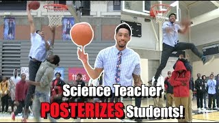 Science Teacher POSTERIZES Student TWICE! Jonathan Clark Has BOUNCE!
