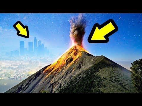 أخيرا بعد سنوات إكتشفت جزيرة البركان السرية في جي تي أي 5   GTA V Volcano Island