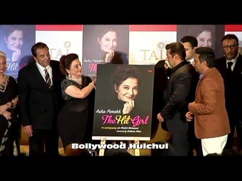 UNCUT : Salman khan Releases Asha Parekh's Book..Asha Parekh The Hit Girl