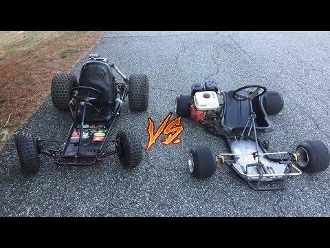 Race Kart vs Yard Kart