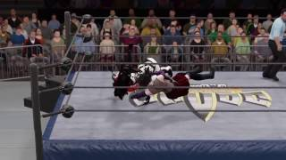 WWE 2K17 Lady Death vs. Cassie Hack vs. Purgatori - Triple Threat Extreme Rules
