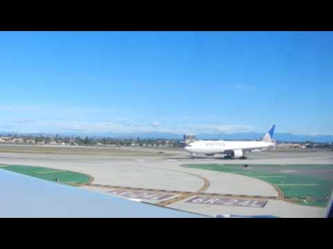 Departing from Los Angels International Airport-LAX-Feb 2018