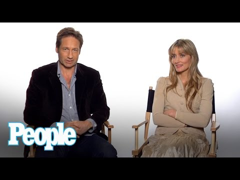 "David Duchovny & Natascha McElhone Talk ""Californication"" 