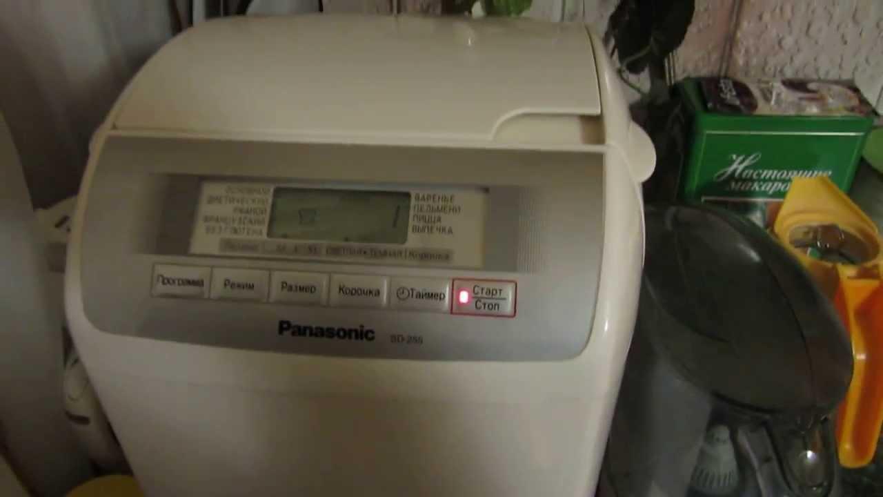 Самое слабое место хлебопечи Panasonic SD-2511WTS и Panasonic 257 .