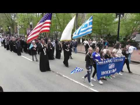 Greek Independence Day Parade April 30 2017 Boston,Παρέλαση Βοστώνη 4-30-2017