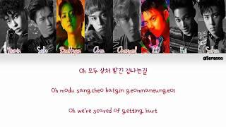 EXO (엑소) – Sweet Lies (Color Coded Han Rom Eng Lyrics)