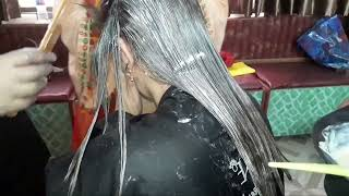 how to fix a bad hair dye job orange(nazia bilal)