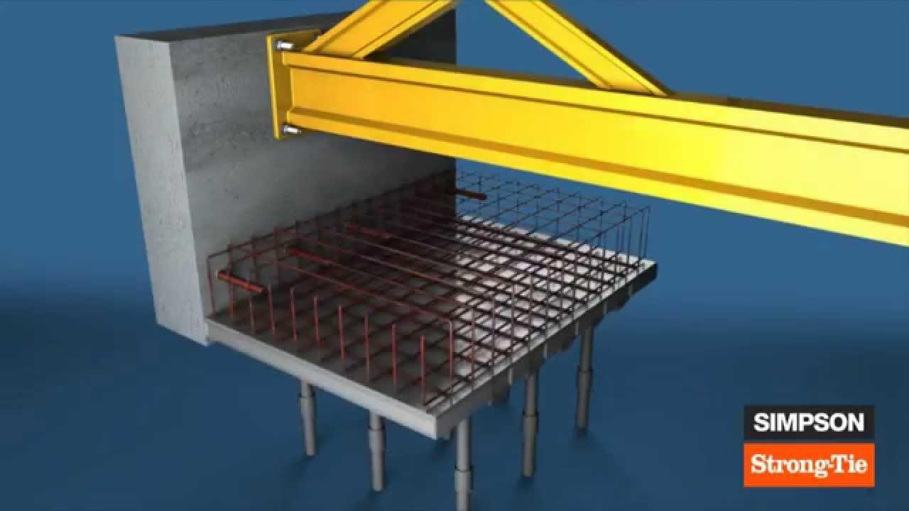 le scellement chimique par simpson strong tie youtube. Black Bedroom Furniture Sets. Home Design Ideas