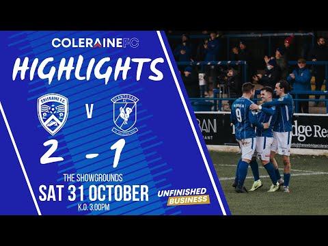 Coleraine Glentoran Goals And Highlights