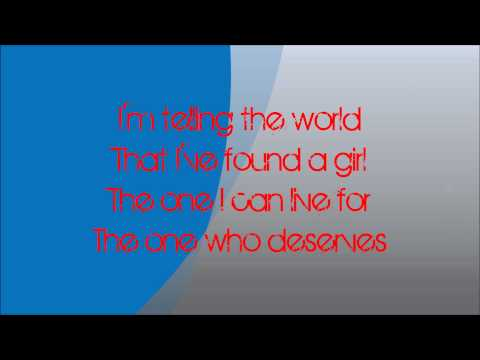 Taio Cruz - Telling The World (Official Lyrics On Screen) [HQ/HD]