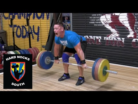 Will John Cena throw a chair? Work capacity lower body training - Hard Nocks South Life