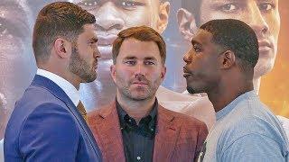 Filip Hrgović vs. Gregory Corbin FACE TO FACE in Maryland | DAZN & Sky Sports Boxing