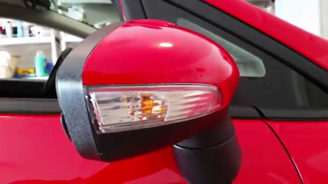 2013 Ford Fiesta Testing New Side Marker Light In Side