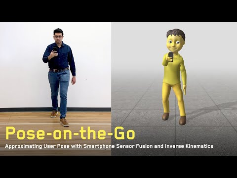 Pose-on-the-Go: Approximating User Pose with Smartphone Sensor Fusion and Inverse Kinematics