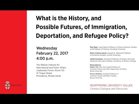 What is the History, and Possible Futures, of Immigration Deportation and Refugee Policy?