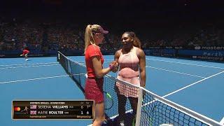 Serena Williams v Katie Boulter highlights (RR)