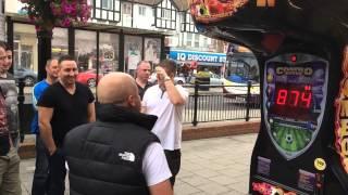 Punch Bag Challenge - Nottingham Lads