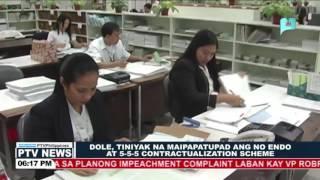 DOLE, tiniyak na ipagbabawal ang 'Endo' at 5-5-5 Contractualization scheme