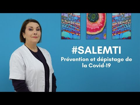 #SALEMTI : Prévention et dépistage de la Covid-19