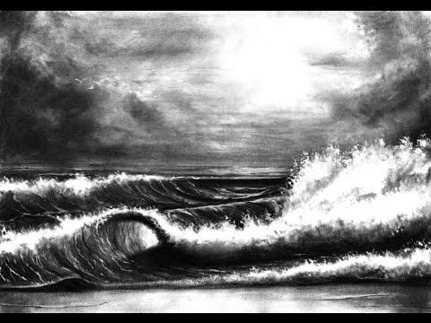 Wie zeichnet man Wasser und Wellen ?  // So leicht geht´s !!