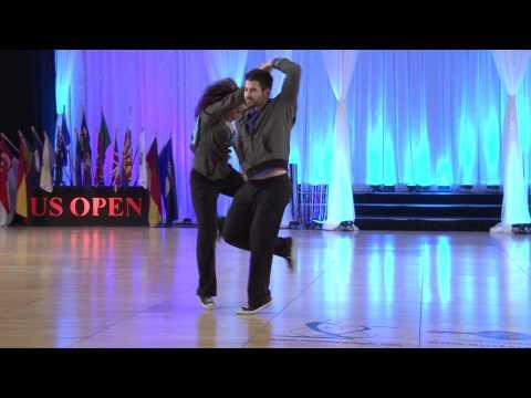 Ben Morris And Nina Gilkenson Improv Lindy Hop Doovi