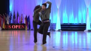 Ben Morris and Jennifer Deluca - 2013 US Open Classic Division Finals