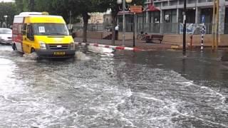 Дожди в Израиле: