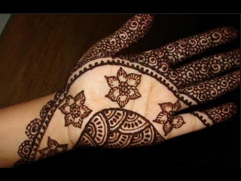 Mehndi Art Step By Step : Mehndi design simple and easy henna designstep by step