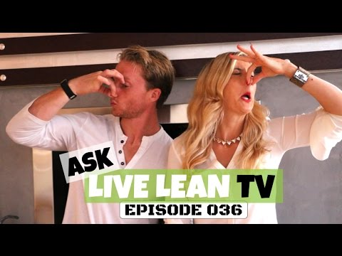 Poop Problems, Flu Shots, Health Shaming | #AskLiveLeanTV Ep. 036