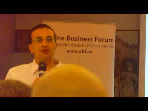 Building Social Media Presence at Online Business Forum Iasi 2010 de Mugur Frunzetti