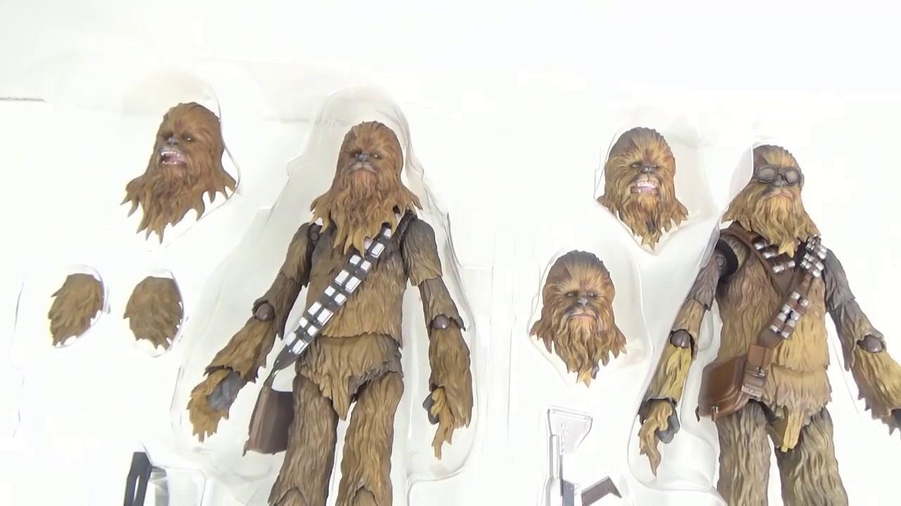 SOLO Chewbacca Bandai S.H Figuarts Star Wars
