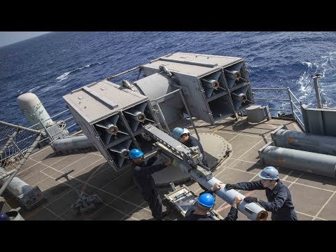 How To Reload The Missile Pod Of The RIM-7 NATO Sea Sparrow Missile