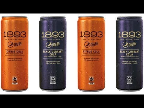 Pepsi 1893 Black Currant Cola & Citrus Cola Review - Wreckless Eating